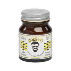 Борода и усы Morgans Pomade Воск для бороды и усов Beard and Moustache Wax (Объем 50 г)
