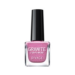 Лак для ногтей Divage Granite 15 (Цвет 15 variant_hex_name CC76A7)