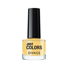 Лак для ногтей Divage Just Colors 10 (Цвет 10 variant_hex_name F8D88F) лаки для ногтей naillook лак для ногтей cashmere 32307 poncho 8 5 мл