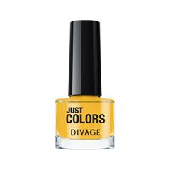 Лак для ногтей Divage Just Colors 12 (Цвет 12 variant_hex_name F3C744) лаки для ногтей divage набор 311 лаки для ногтей everlasting g 14 топ покрытие
