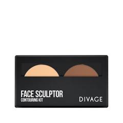 Для лица Divage Палетка для скульптурирования Face Sculptor