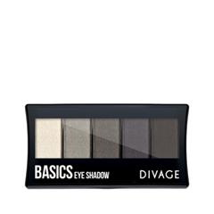 Для глаз Divage Palettes Eye Shadow Basics
