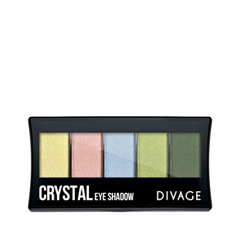 Для глаз Divage Palettes Eye Shadow Crystal тени divage палетка теней для век palettes eye shadow товар midnight