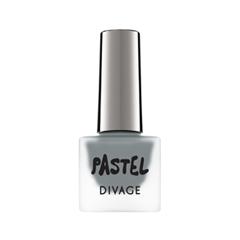 Лак для ногтей Divage Pastel Nail Polish 10 (Цвет 10 variant_hex_name 868E91) лак для ногтей divage pastel nail polish 08 цвет 08 variant hex name a3dbc0