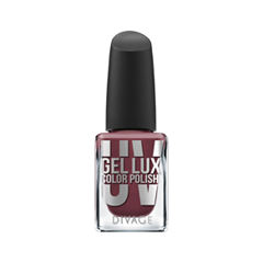 Лак для ногтей Divage Uv Gel Lux 15 (Цвет 15 variant_hex_name 82404C)