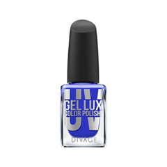 Лак для ногтей Divage Uv Gel Lux 16 (Цвет 16 variant_hex_name 2d35be)