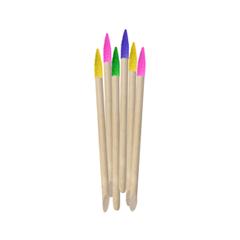 Инструменты для маникюра и педикюра Divage Набор цветных палочек для маникюра