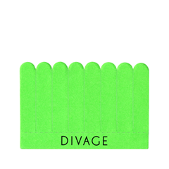 Инструменты для маникюра и педикюра Divage Набор пилочек отрывных Dolly Collection Зеленый (Цвет Зеленый variant_hex_name 68F14C)