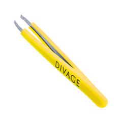 Пинцеты Divage Пинцет для бровей Dolly Collection Желтый (Цвет Желтый variant_hex_name FBDB0C)