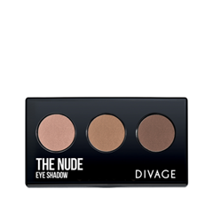 Для глаз Divage The Nude 02 (Цвет 02 variant_hex_name B98A7A) the balm палетка теней nude tude®