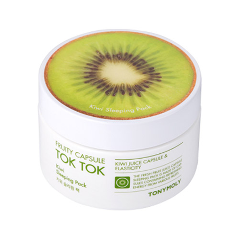 Маска Tony Moly Fruity Capsule Tok Tok Sleeping Pack Kiwi (Объем 80 мл) luminarc салатник luminarc nordic epona 18 см