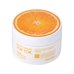 Маска Tony Moly Fruity Capsule Tok Tok Sleeping Pack Orange (Объем 80 мл) недорого