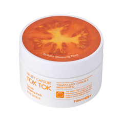 Маска Tony Moly Fruity Capsule Tok Tok Sleeping Pack Tomato (Объем 80 мл)