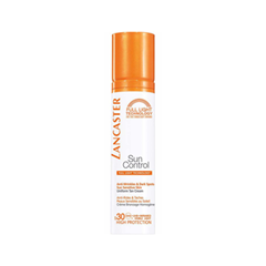 Средства для загара Lancaster Sun Control Anti-Wrinkles & Dark Spots Sun Sensitive Skin Uniform Tan Cream SPF30 (Объем 50 мл) lancaster sun care масло шелковистое для тела для усиления загара spf30 sun care масло шелковистое для тела для усиления загара spf30
