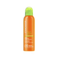 Защита от солнца Lancaster Sun Sport Invisible Mist Wet Skin Application Sublime Tan SPF15 (Объем 200 мл) спрей солнцезащитный lancaster sun sport spf30