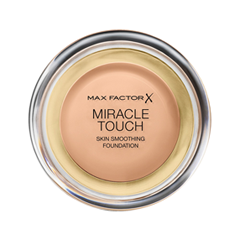 Тональная основа Max Factor Miracle Touch Skin Smoothing Foundation 45 (Цвет 45 Warm Almond variant_hex_name DCB598 Вес 20.00) miracle steam hand cream lovely touch объем 45 г