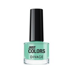 Лак для ногтей Divage Just Colors 04 (Цвет 04 variant_hex_name 88CCB5) лаки для ногтей naillook лак для ногтей cashmere 32307 poncho 8 5 мл