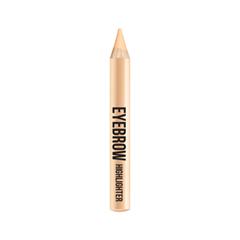 Карандаш для бровей Divage Карандаш-хайлайтер Eyebrow Hightlighter (Цвет 01 variant_hex_name F8E3D1) карандаш для бровей wow brow 01 divage