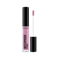 Блеск для губ Divage Waterproof Lip Gloss 01 (Цвет 01 variant_hex_name C186A4) блеск для губ divage vinyl gloss transparent lip liner 23