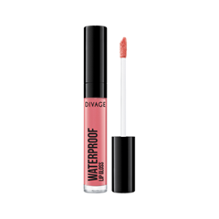 Блеск для губ Divage Waterproof Lip Gloss 02 (Цвет 02 variant_hex_name DC6D76) блеск для губ divage vinyl gloss transparent lip liner 23