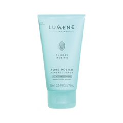 Скраб Lumene Puhdas [Purity] Pore Polish Mineral Scrub (Объем 75 мл) скраб lv скраб для лица объем 75 мл