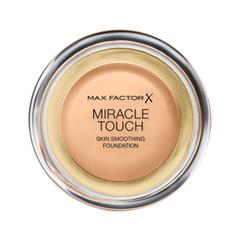 Тональная основа Max Factor Miracle Touch Skin Smoothing Foundation 75 (Цвет 75 Golden variant_hex_name EDBF9D Вес 20.00)