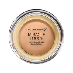 Тональная основа Max Factor Miracle Touch Skin Smoothing Foundation 80 (Цвет 80 Bronze variant_hex_name E5AF81 Вес 20.00)