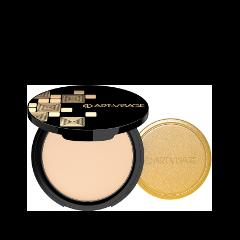 Компактная пудра Art-Visage  для нормальной и сухой кожи Nude Magique 01 (Цвет  Фарфоровый variant_hex_name F9E6DE)