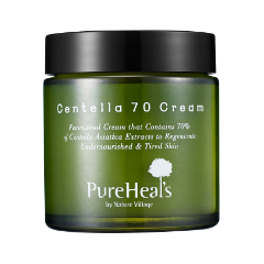 Крем Pureheal's Centella 70 Cream (Объем 50 мл) promoitalia гликолевый пилинг pro plus 70% 50 мл гликолевый пилинг pro plus 70% 50 мл 50 мл 70%