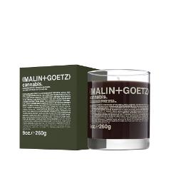 Ароматическая свеча Malin+Goetz Свеча ароматизированная Каннабис (Объем 260 г)
