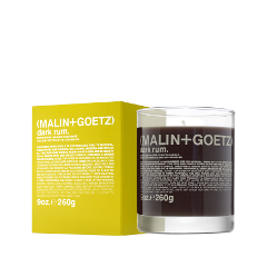Ароматическая свеча Malin+Goetz Свеча ароматизированная Темный Ром (Объем 260 г) vera mont платье