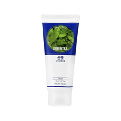 Пенка Holika Holika Daily Fresh Green tea Cleansing Foam (Объем 150 мл) пенка holika holika pig clear dust out deep cleansing foam объем 150 мл