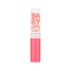 Блеск для губ Maybelline New York Baby Lips Moisturizing Lip Gloss 35 (Цвет 35 Fab and Fuchsia variant_hex_name FF8196)
