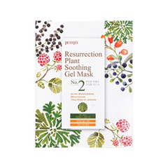 Тканевая маска Petitfee Resurrection Plant Soothing Gel Mask resurrection plants hydrophile jericho rose plant