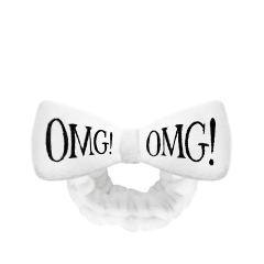 Тканевая маска Double Dare OMG! Повязка косметическая для волос белая