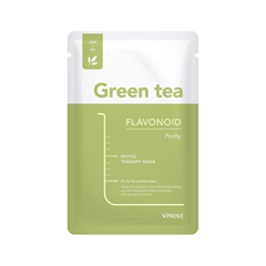 Тканевая маска Vprove Phyto Therapy Mask Sheet Green Tea Flavonoid Purity (Объем 20 мл) тканевая маска vprove phyto therapy mask sheet green tea flavonoid purity объем 20 мл