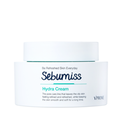 Крем Vprove Sebumiss Hydra Cream (Объем 50 мл) увлажняющий крем для лица the saem the essential galactomyces hydra cream