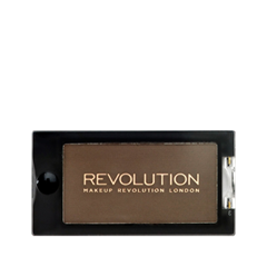 Тени для век Makeup Revolution Mono Eyeshadow Delicious (Цвет Delicious variant_hex_name 725B49) краска для волос indola professional оттенок 6 1 темный русый пепельный 60 мл