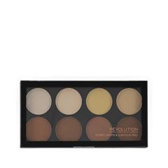 Для лица Makeup Revolution Палетка для контурирования Iconic Lights  Contour Pro Palette