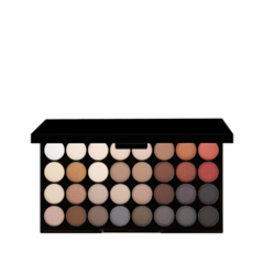 Для глаз Makeup Revolution Ultra 32 Shade Eyeshadow Palette Flawless 2 (Цвет Flawless 2 variant_hex_name 742835) для глаз catrice the modern matt collection eyeshadow palette 010 цвет 010 the must have matts variant hex name b19f9b
