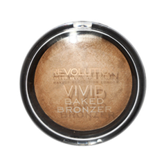 Бронзатор Makeup Revolution Vivid Baked Bronzer Golden Days (Цвет Golden Days variant_hex_name CAA785) dew the hoola бронзер для лица 30 мл