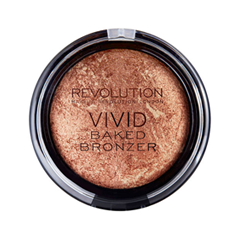 Бронзатор Makeup Revolution Vivid Baked Bronzer Rock on World (Цвет Rock on World variant_hex_name 9F503F) benefit dew the hoola бронзер для лица dew the hoola бронзер для лица