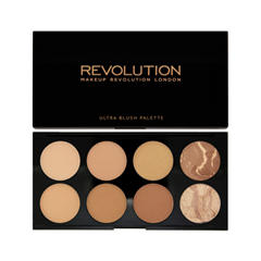Для лица Makeup Revolution Blush & Contour Palette All About Bronzed makeup base color corrector contour cream concealer palette