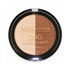 Лицо Makeup Revolution Палетка для скульптурирования Duo Face Sculpt