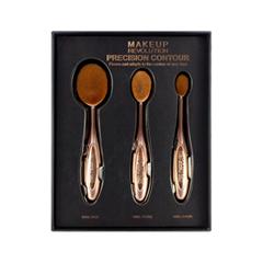 Набор кистей для макияжа REVOLUTION Makeup Precision Contour Set кисти для макияжа brush set 32pcs pincel maquiagem professional 32 pcs makeup brushes set