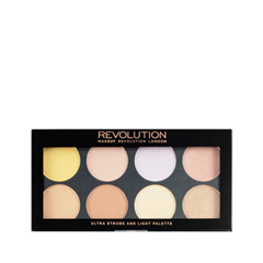 Для лица REVOLUTION Makeup Ultra Strobe and Light Palette godox ds300 300w photography strobe flash studio light lamp