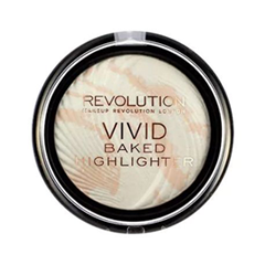 Хайлайтер Makeup Revolution Vivid Baked Highlighters Matte Lights (Цвет Matte Lights variant_hex_name E4DDCD) бронзатор makeup revolution vivid baked bronzer rock on world цвет rock on world variant hex name 9f503f