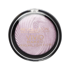Хайлайтер Makeup Revolution Vivid Baked Highlighters Pink Lights (Цвет Pink Lights variant_hex_name E7D8EB) бронзатор makeup revolution vivid baked bronzer ready to go цвет ready to go variant hex name cf866a