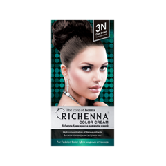 Перманентное окрашивание Richenna Color Cream 3N (Цвет 3N Dark Brown variant_hex_name 2D1F1E) 57 stepper motor set 76mm torque 2 3n m tb6600 drive 4 0a manufacturers spot direct sales