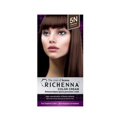 Перманентное окрашивание Richenna Color Cream 5N (Цвет  Chestnut variant_hex_name 5B3A29)